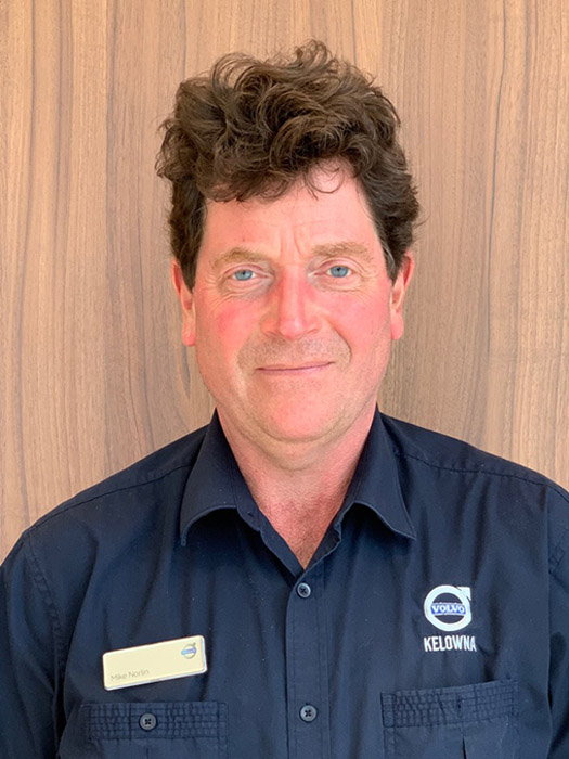 MIKE NORLIN - PARTS MANAGER
